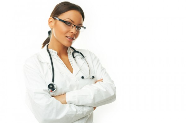 Sexy female doctor