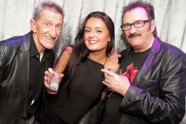 Viral picture of Chuckle Brothers with young girl in the centre