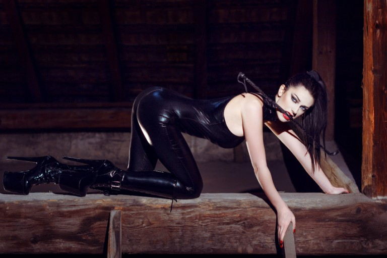 Beautiful dominatrix