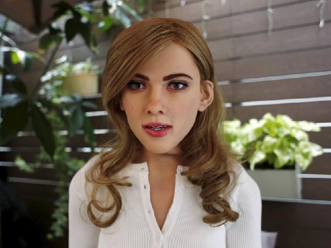 Scarlett Johannson doll