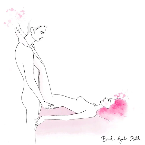The butterfly sex position
