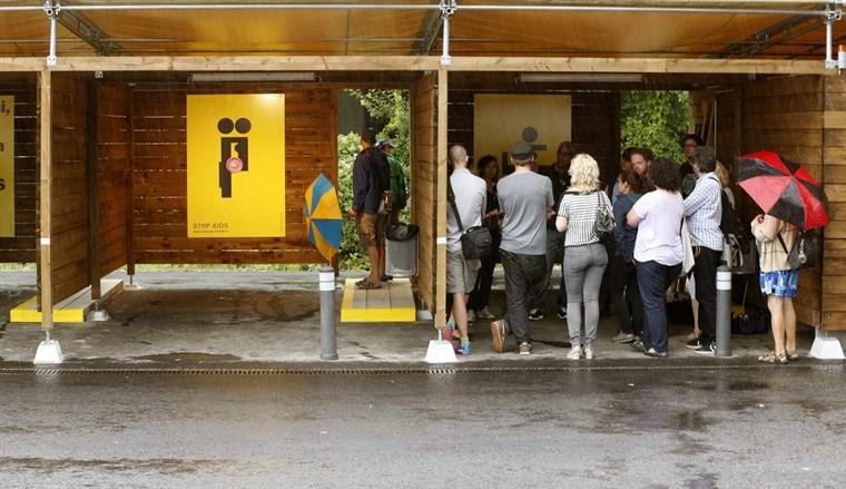Swiss sex stall