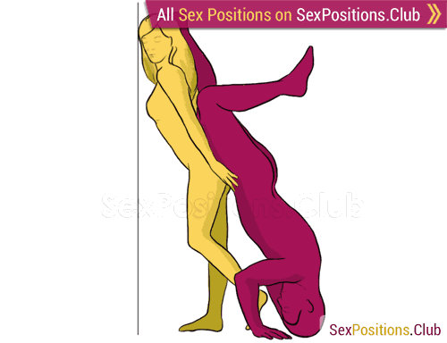 The hill position looks uncomfortable