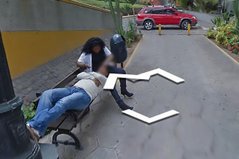 Cheating Couple on Google Maps
