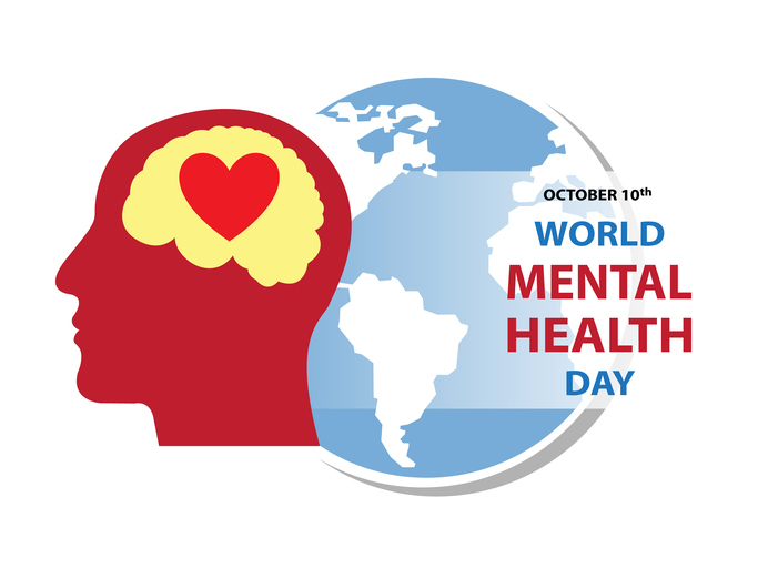 WORLD MENTAL HEALTH DAY Background