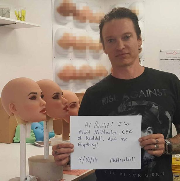 Owner of company creating sex dolls with real vagina