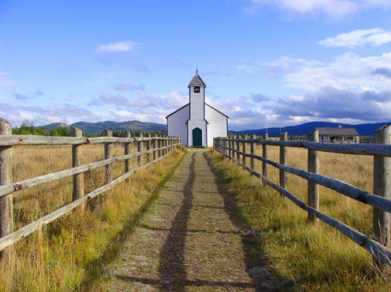 A small rural church